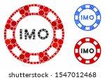 imo token composition of circle ...   Shutterstock .eps vector #1547012468