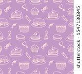 purple cute girly background....   Shutterstock .eps vector #1547130845