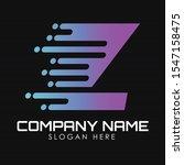 speed letter z logo design...   Shutterstock .eps vector #1547158475