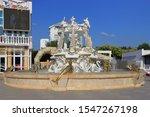 Fountain Near The Cafe Seagull...