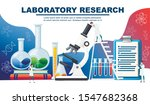 chemistry laboratory abstract... | Shutterstock .eps vector #1547682368