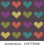Seamless Pattern With Knit...