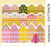 unusual christmas illustration... | Shutterstock .eps vector #1547756678