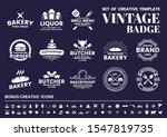 vintage retro vector for banner ... | Shutterstock .eps vector #1547819735