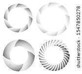 halftone dots in circle form.... | Shutterstock .eps vector #1547850278