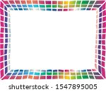 doodle styled bright colorful... | Shutterstock .eps vector #1547895005