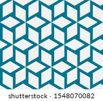seamless geometric pattern.... | Shutterstock .eps vector #1548070082