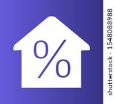 percent icon isolated on... | Shutterstock . vector #1548088988