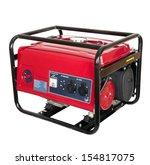 portable gasoline generator.... | Shutterstock . vector #154817075