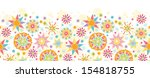 colorful christmas stars... | Shutterstock . vector #154818755