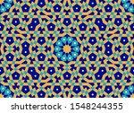 morocco seamless pattern.... | Shutterstock .eps vector #1548244355