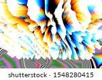 digital effects. vibrant... | Shutterstock . vector #1548280415