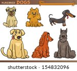 cartoon comic illustration of... | Shutterstock . vector #154832096