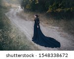 Back Silhouette Gothic Lady Old ...