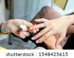 Bridal Manicure Before Wedding...