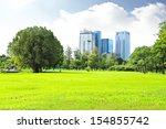 green city park | Shutterstock . vector #154855742