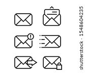 simple mail or envelope icons...