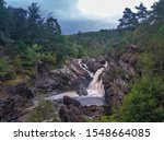 Rogie Falls  A Series Of...