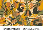 exotic jungle illustration... | Shutterstock .eps vector #1548669248