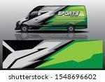 van car wrap design for company   Shutterstock .eps vector #1548696602