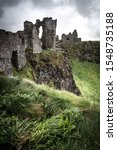Dunluce Castle In Northern...