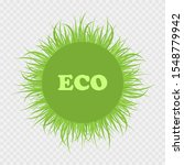 ecology logo of nature. eco... | Shutterstock .eps vector #1548779942