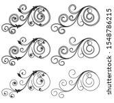 Set Of Ornamental Design...