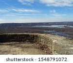 View on the Mississippi River from Wyalusing State Park, Wisconsin