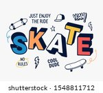 Skateboard Vector Illustration...