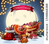 merry christmas  square... | Shutterstock .eps vector #1548868388