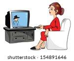 vector illustration of woman...