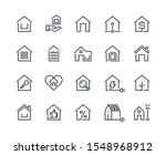 home line icons. house... | Shutterstock .eps vector #1548968912