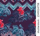 watercolor seamless pattern... | Shutterstock . vector #1549014758