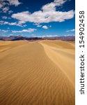 Mesquite Dunes Desert In Death...