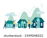 vector illustration  real... | Shutterstock .eps vector #1549048322