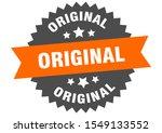 original sticker. original... | Shutterstock .eps vector #1549133552