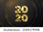 happy new year 2020. holiday... | Shutterstock .eps vector #1549179998