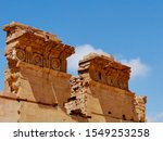 Ruins Of Temple Of Winged Lion...