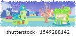 like insects and fairies cute...   Shutterstock .eps vector #1549288142
