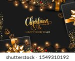 merry christmas and happy new... | Shutterstock .eps vector #1549310192