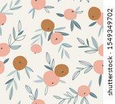 fruit seamless pattern in... | Shutterstock .eps vector #1549349702
