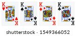 four kings playing cards  ... | Shutterstock . vector #1549366052
