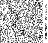 abstract hand drawn underwater... | Shutterstock .eps vector #1549432442