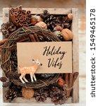 Holiday Vibes   Greeting Card....