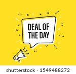 male hand holding megaphone... | Shutterstock .eps vector #1549488272