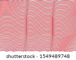 red waving halftone gradients.... | Shutterstock .eps vector #1549489748