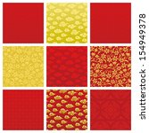 chinese backgrounds | Shutterstock .eps vector #154949378
