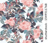 beautiful vector elegant flower ... | Shutterstock .eps vector #1549511768