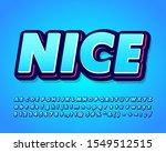 nice sticker text effect cool... | Shutterstock .eps vector #1549512515