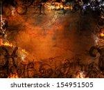 mysterious astrological spells... | Shutterstock . vector #154951505